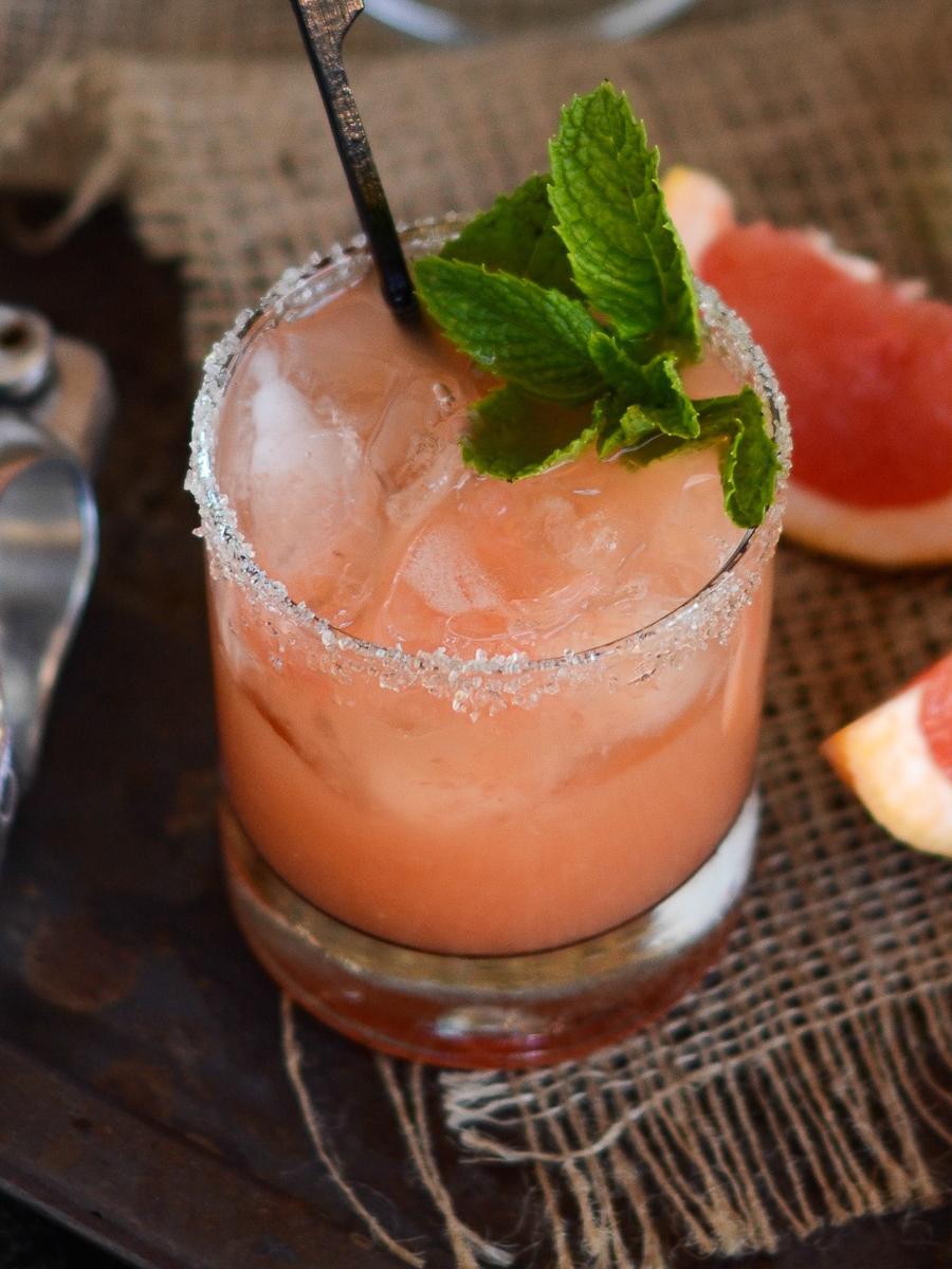 Ruby Grapefruit Margarita