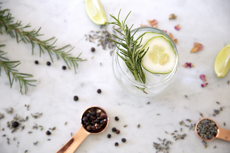 Host your own gin tasting at home